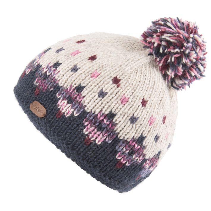 KuSan Fleece Lined Unisex Bobble Hat - Navy, KuSan Hats & Accessories
