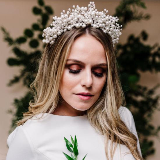 Everlasting Pearl Bridal Tiara, Tiaras