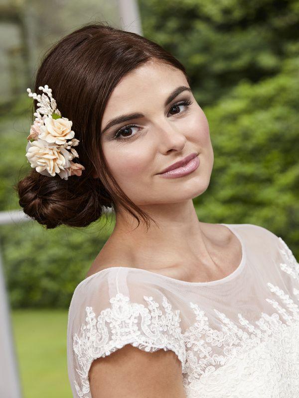 Floral Hair Clip, Bridal Hair Accessories