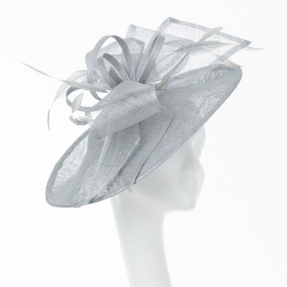 Large Disc Hatinator - Silver, Ladies Hats
