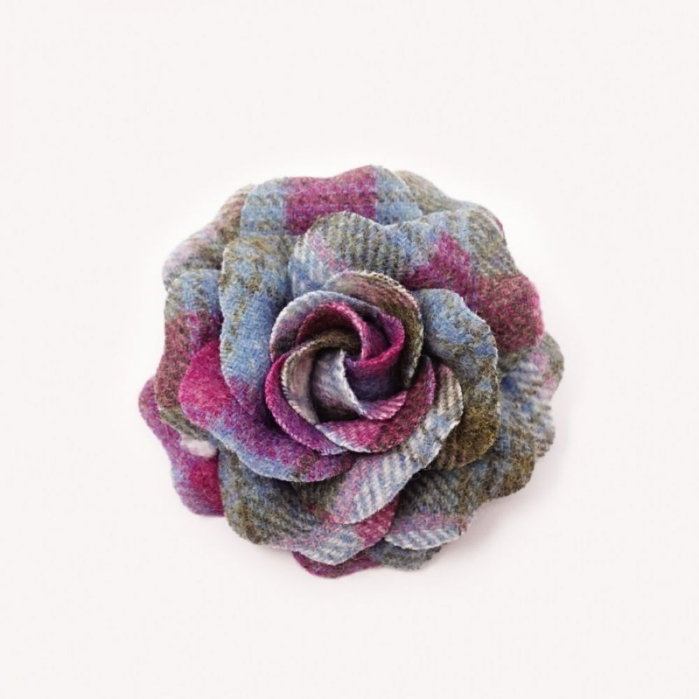 Bonnie Tweed Rose Corsage - Clova, Ness