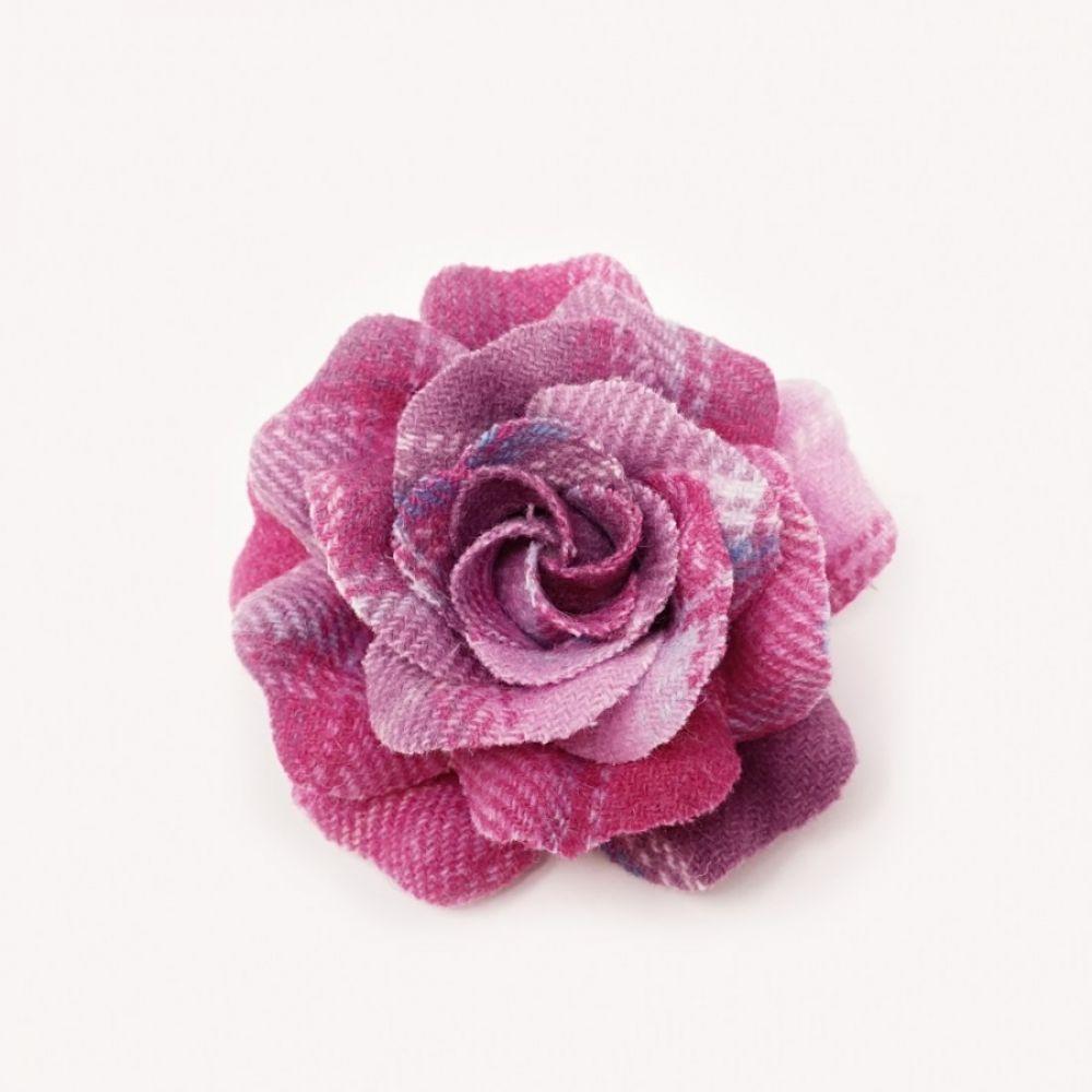Bonnie Tweed Rose Corsage - Pink Lemonade, Ness