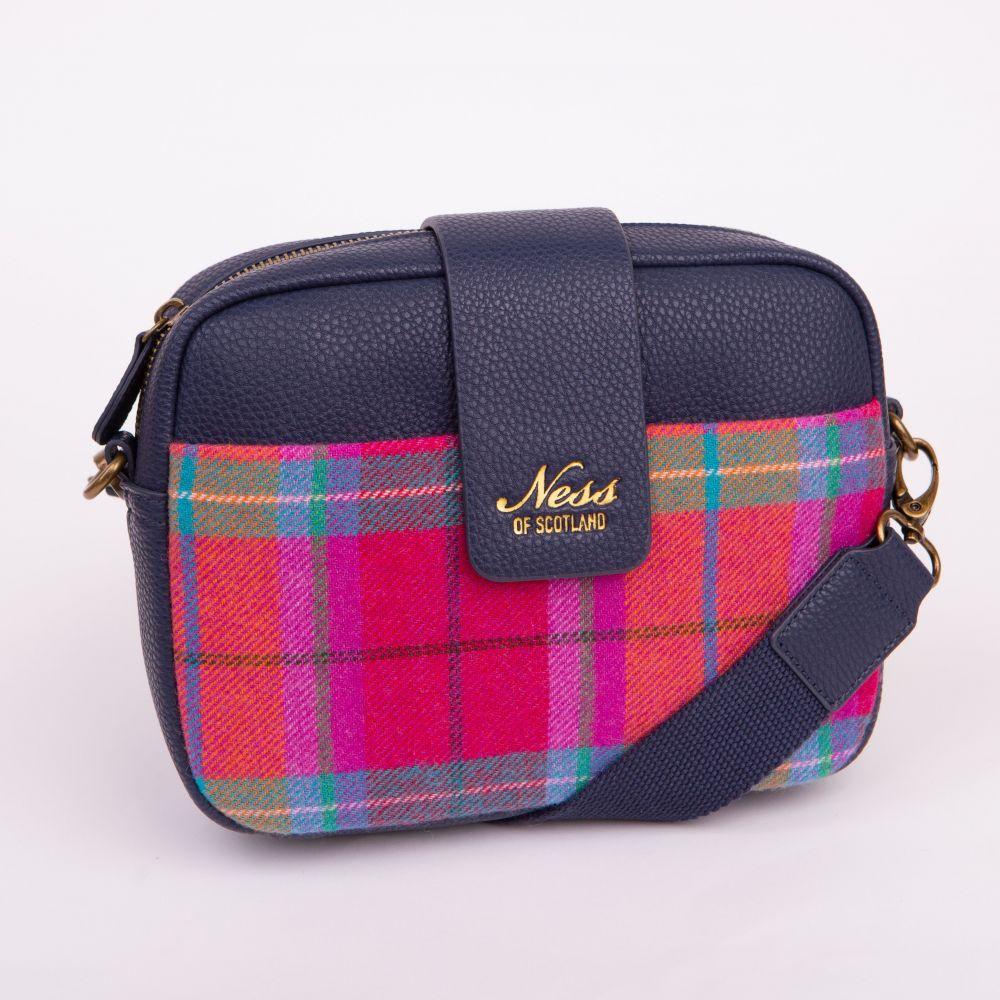 Ness Skye Tweed Cross Body Bag - Melrose, Accessories