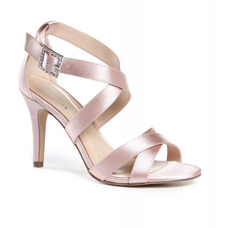 Macpherson High Heel Strappy Sandals - Blush, Shoes