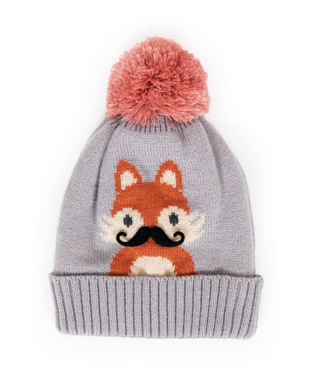 Cosy Kids Fox Hat - Age 2-6 Years, Kids Hats & Mittens