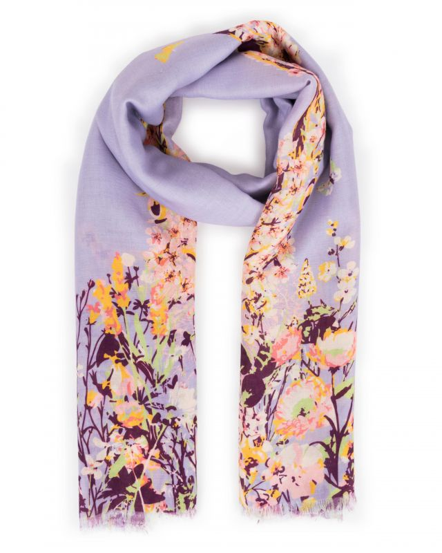 Spring Hare Print Scarf, Accessories