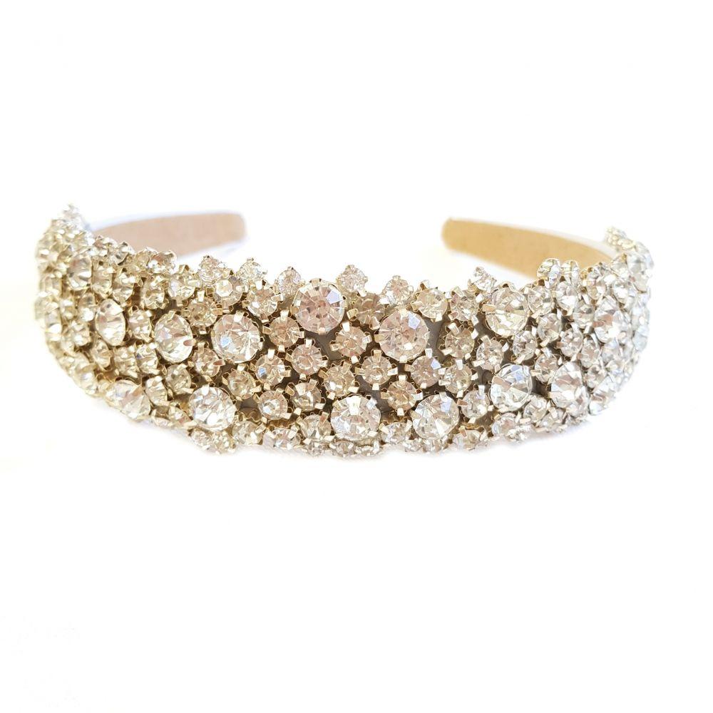 Designer Diamante Headband - Jessica, Designer Headbands