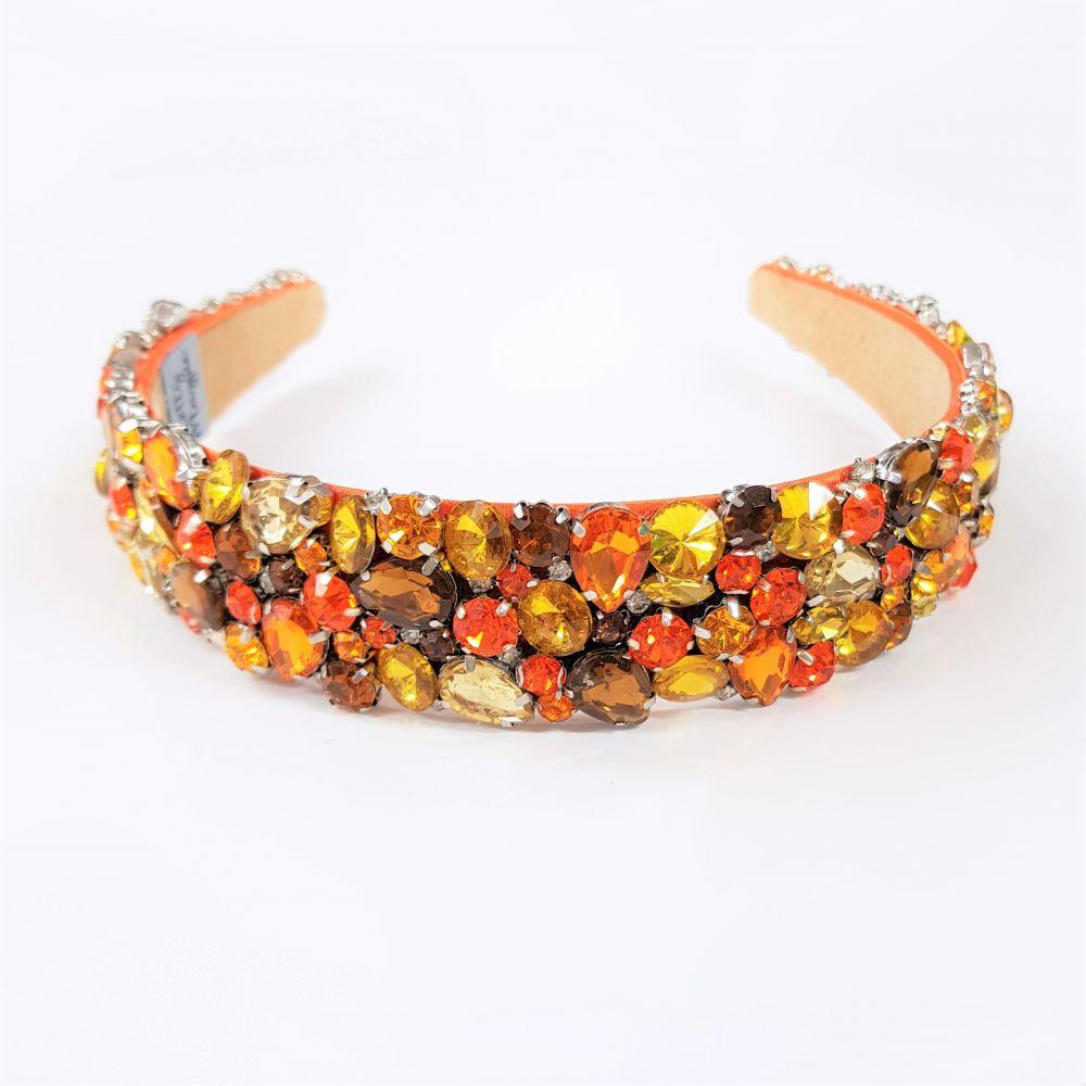 Designer Jewelled Headband - Shaan, Designer Headbands