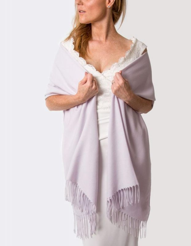 Super Soft Italian Pashmina - Pastel Lilac, Accessories