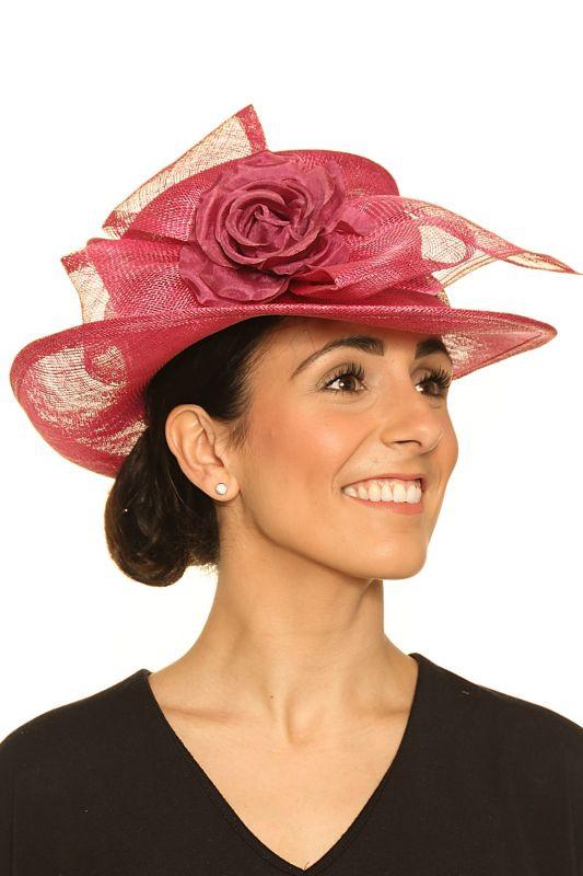 Medium Sinamay Hat, Ladies Hats
