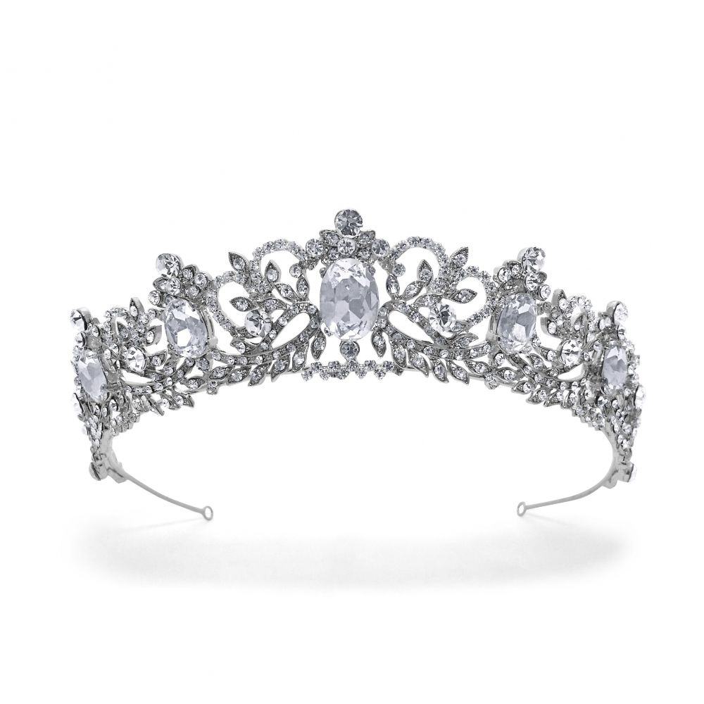 Regal Style Wedding Tiara Antoinette, Tiaras