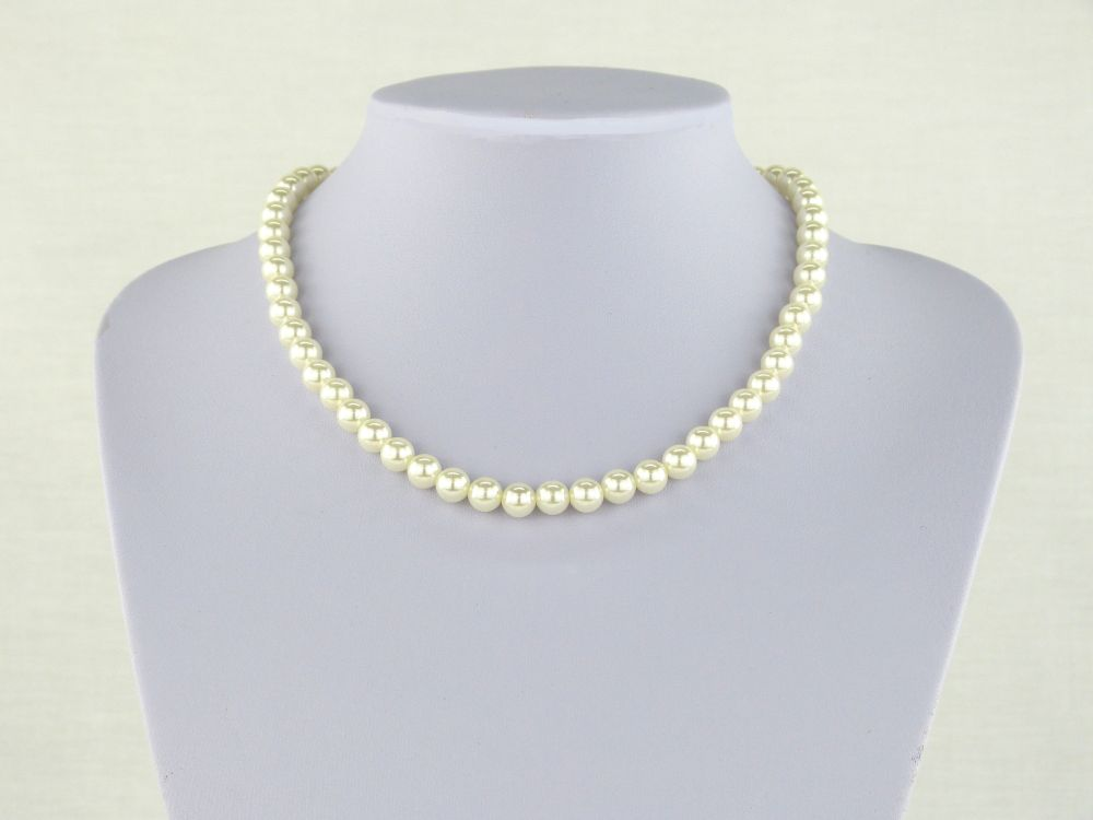 Hepburn Freshwater Pearl Necklace, Jewellery