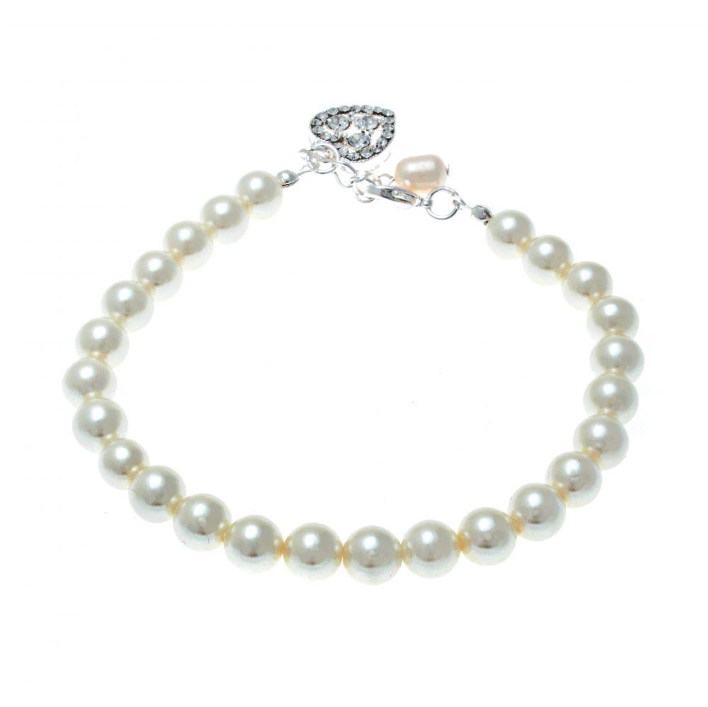 Hepburn Freshwater Pearl Bridal Bracelet, Jewellery