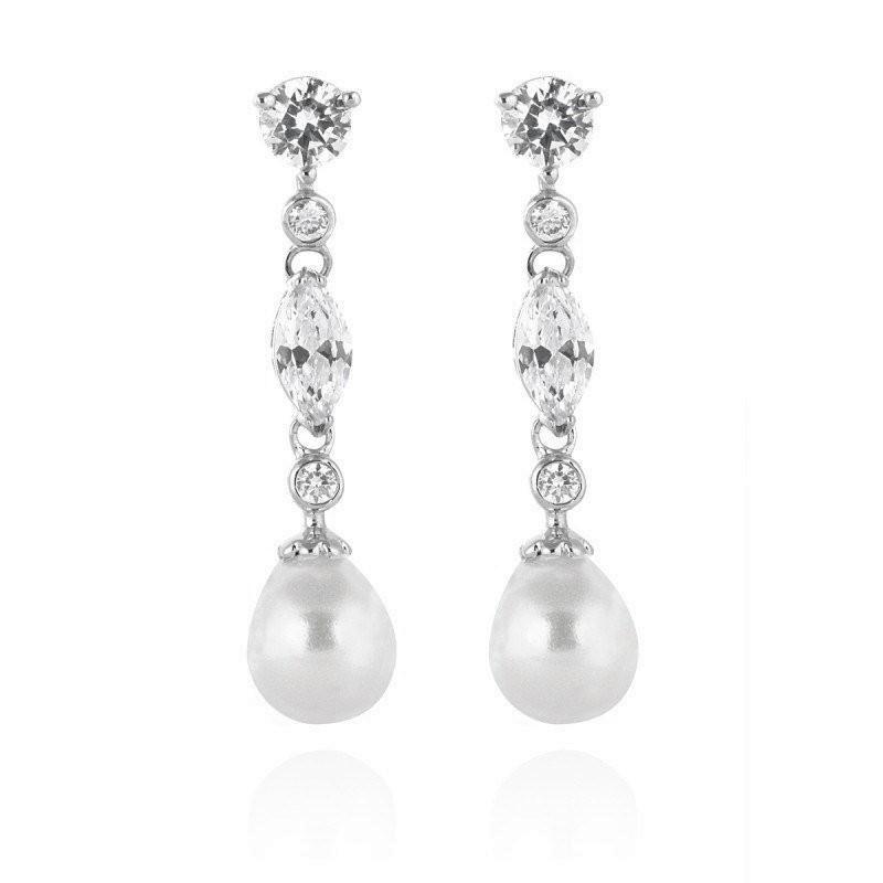 Jane Pearl Bridal Earrings, Jewellery
