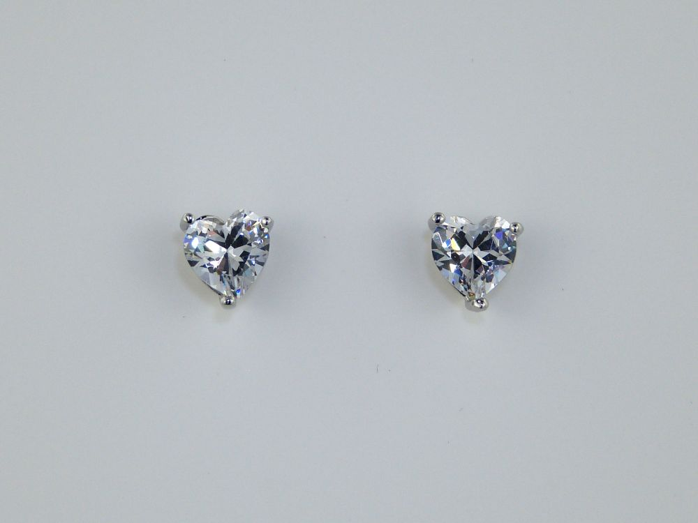 Valentine Heart Earrings, Occasion Jewellery
