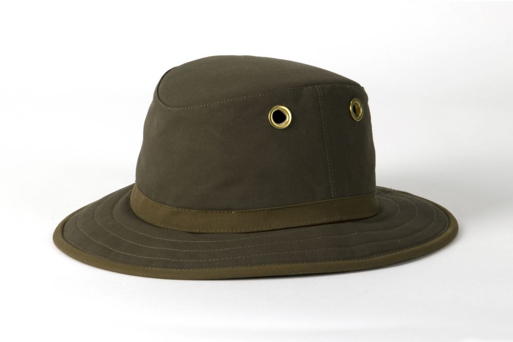 Tilley - TWC7 Outback Waxed Cotton - Olive, Tilley Hats
