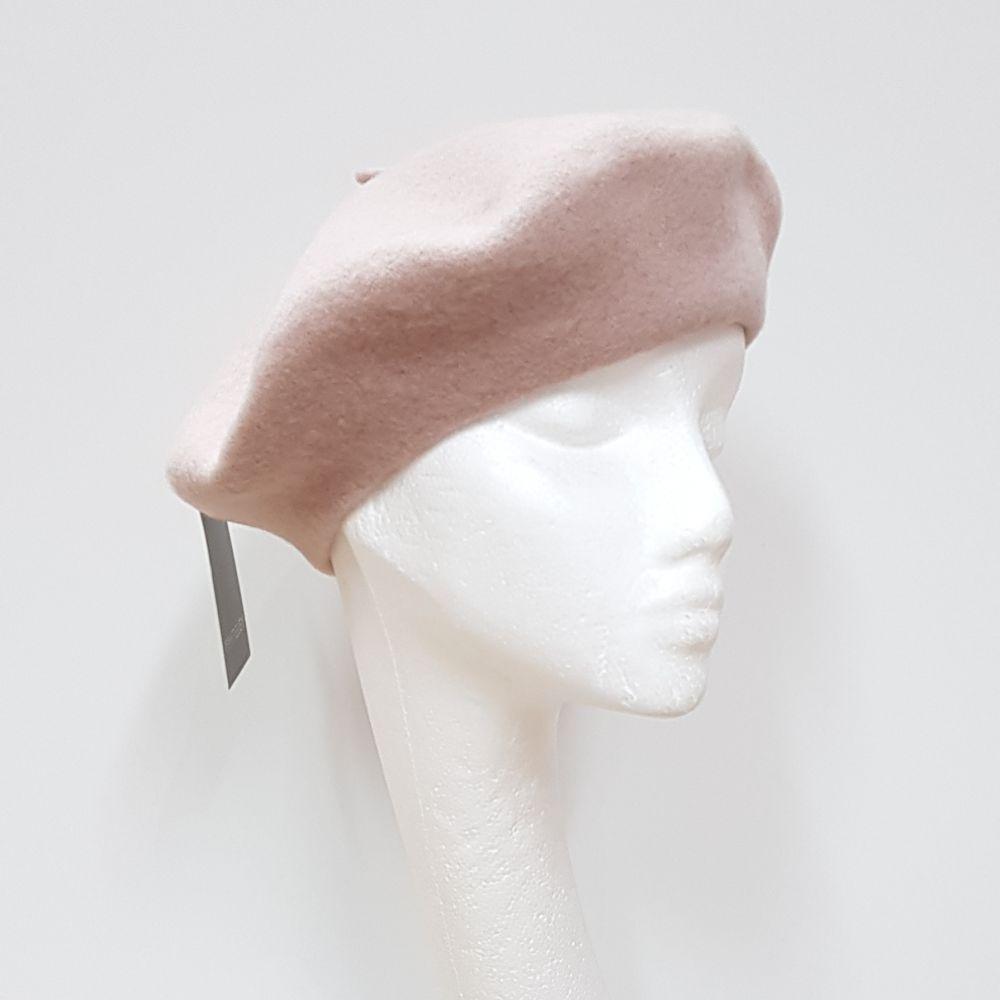 Wool Beret - Oatmeal, Ladies Hats