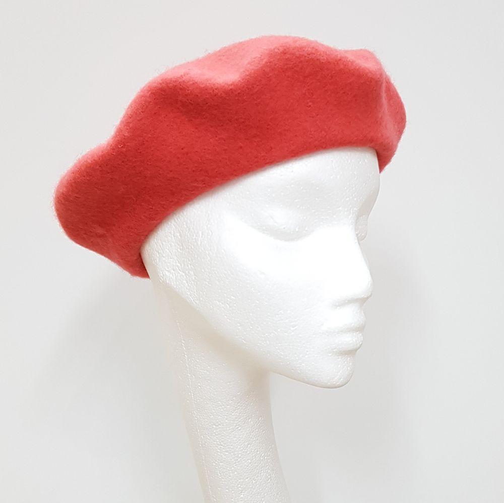 Wool Beret - Mango, Ladies Hats