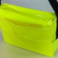 Leaflet Delivery Bag, Pockets, Black Strap