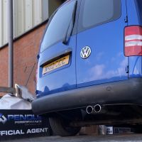 VW Caddy dpf/Cat Back System