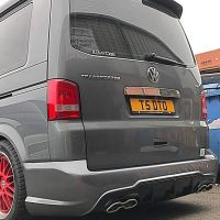 Vw T5 (2004-2015) AMG Bumper exhaust combo