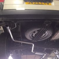 VW T4 2.4D AND 1.9D NON TURBO MODELS Single System Rear Exit