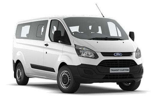 rent a ford transit custom 9 seater hire a transit. Black Bedroom Furniture Sets. Home Design Ideas