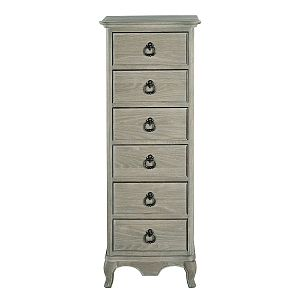 Camille 6 Drawer Tall Chest