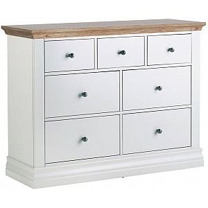 Annecy 3+4 Chest of Drawers Oak Top