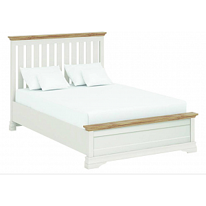 Annecy Imperial Painted 5' King Bedstead Oak Tops LFE