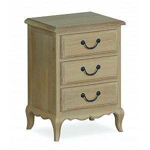 Cheltenham 3 Drawer Bedside