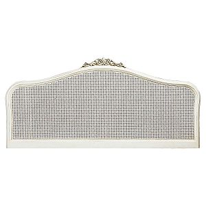 Ivory 150cm King Headboard
