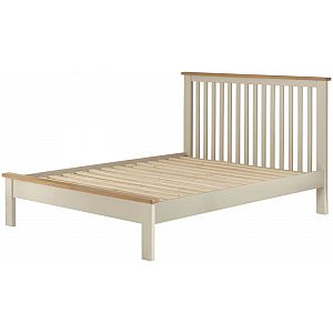 Portland Cream 4'6 Double Bed