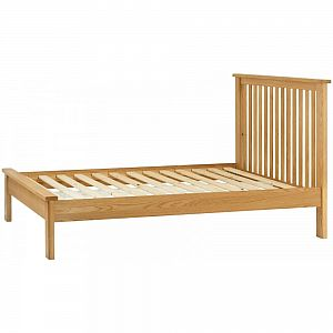 Portland Oak 5'0 King Bed