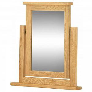 Portland Oak Dressing Table Mirror
