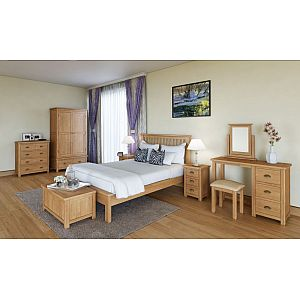 Portland Oak Bedroom Collection
