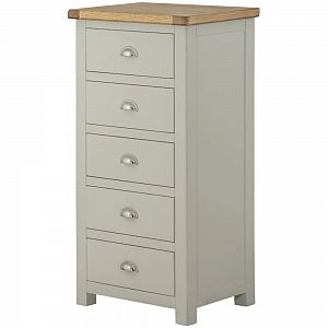 Portland Stone 5 Drawer Chest
