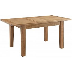 Colorado Oak Extending Dining Table - Small 125cm - 165cm