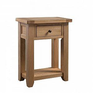 Colorado Oak Small Console Table