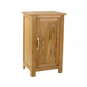 Essentials Oak Small 1 Door Cupboard