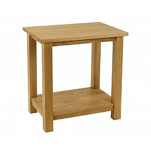 Essentials Oak Side - Lamp Table