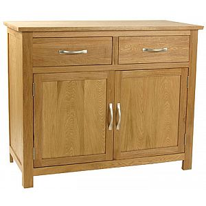 Essentials Oak Sideboard 2 Door - 2 Drawer