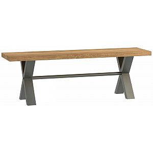 Earth Oak Small Bench