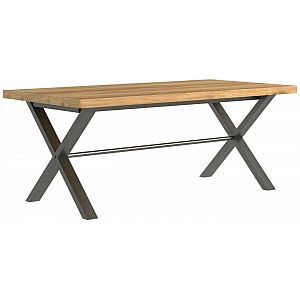 Earth Oak Large Extending Dining Table