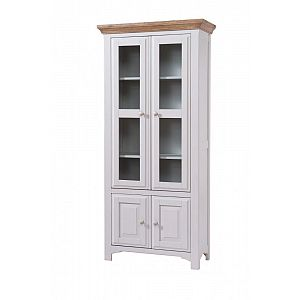 Georgia Tall Glazed Display Cabinet