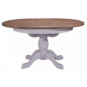 Georgia Round Extending Dining Table 110cm Ext 145cm