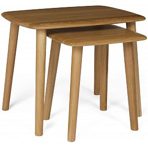 Malmo Oak Nest of Tables