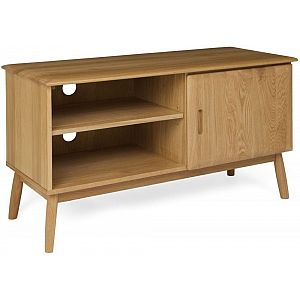 Malmo Oak TV Unit - 1 Door