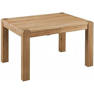 Oslo Oak Dining Table - Small Extending 125cm - 165cm
