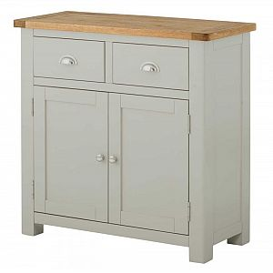 Portland Stone 2 Door 2 Drawer Sideboard